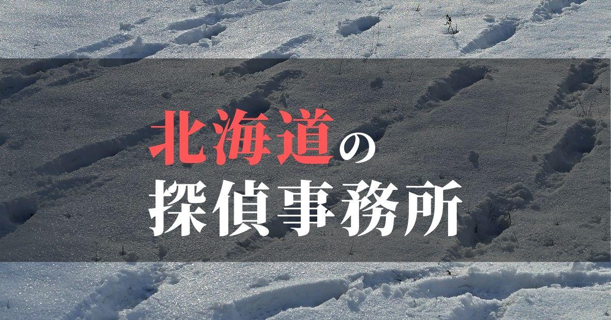 北海道の浮気・不倫探偵事務所