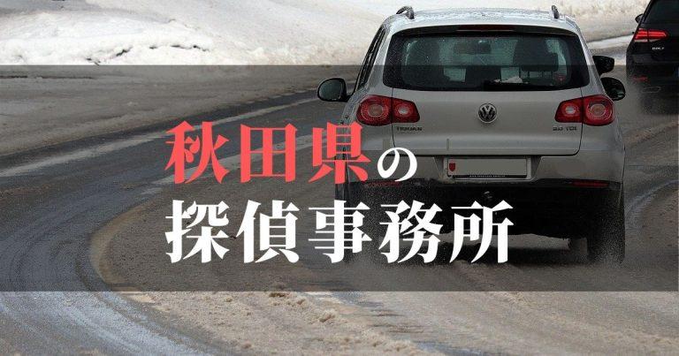 秋田県で浮気調査を依頼するならここ!おすすめ探偵事務所の費用・相場と申込の流れは?!